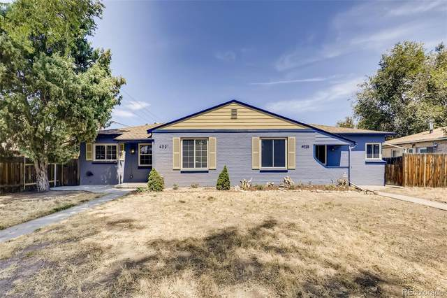 4021/4025 E 16th Ave, Denver, CO 80220 (MLS #2288629) :: Neuhaus Real Estate, Inc.
