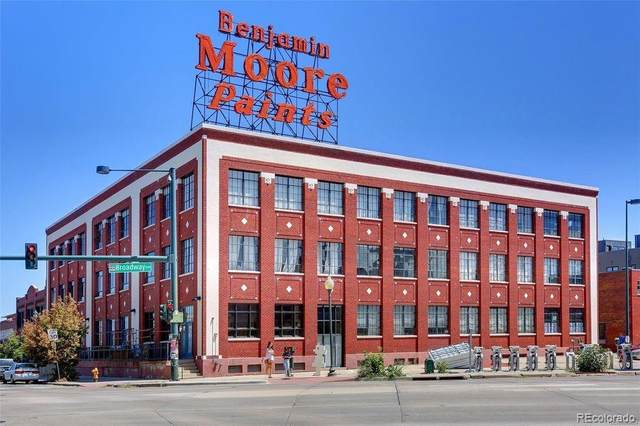 2500 Walnut Street #213, Denver, CO 80205 (MLS #2291374) :: 8z Real Estate