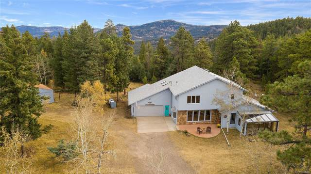 7000 S Frog Hollow Lane, Evergreen, CO 80439 (#2291797) :: Mile High Luxury Real Estate