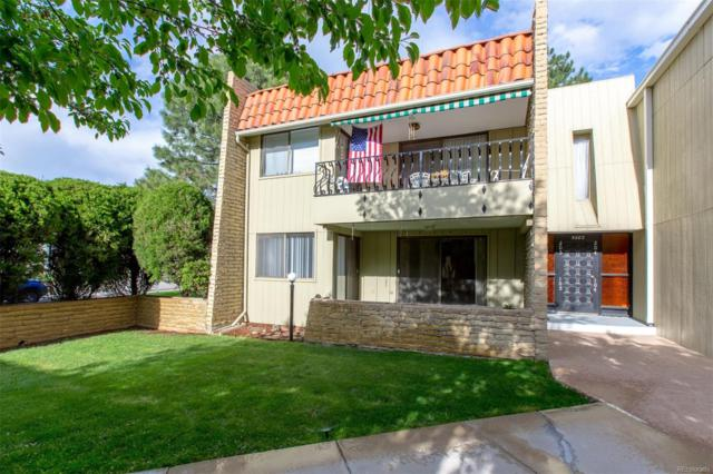 5882 E Ithaca Place #105, Denver, CO 80237 (#2296389) :: Wisdom Real Estate