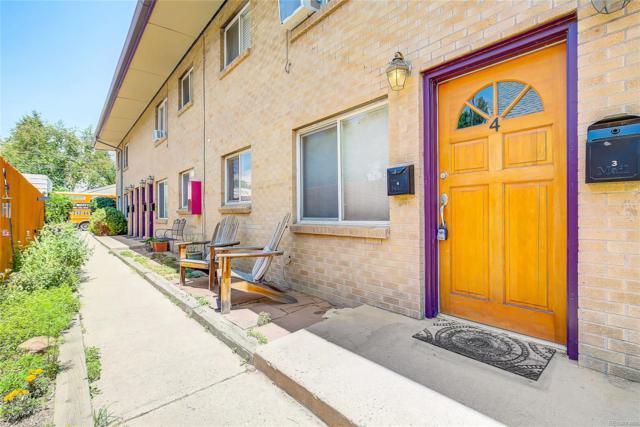 165 W Cedar Avenue #4, Denver, CO 80223 (#2303408) :: The Tamborra Team