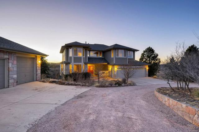 1871 N Rocky View Road, Castle Rock, CO 80108 (#2306588) :: The Peak Properties Group