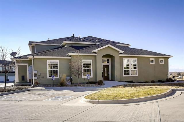 6937 Crestop Place A, Parker, CO 80138 (#2307605) :: Colorado Team Real Estate