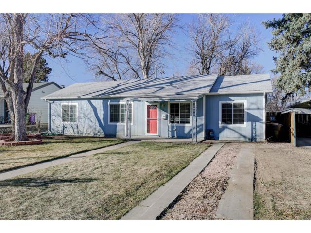 3021 S Ash Street, Denver, CO 80222 (#2311725) :: The Griffith Home Team