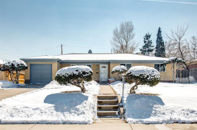 5564 E Utah Place, Denver, CO 80222 (MLS #2317978) :: 8z Real Estate