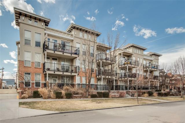 1521 Vine Street #103, Denver, CO 80206 (#2318368) :: The Pete Cook Home Group
