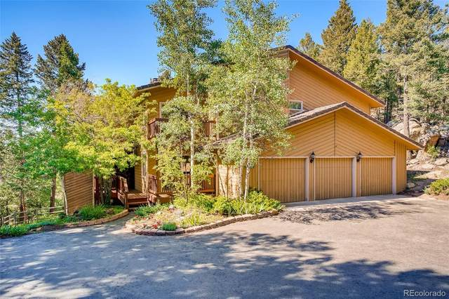 6575 Olympus Drive, Evergreen, CO 80439 (#2321826) :: The Gilbert Group