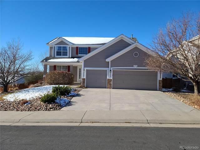 11383 Mesa Verde Lane, Parker, CO 80138 (#2322944) :: The Dixon Group