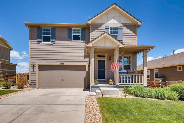 14449 W 91st Place, Arvada, CO 80005 (#2323422) :: The DeGrood Team