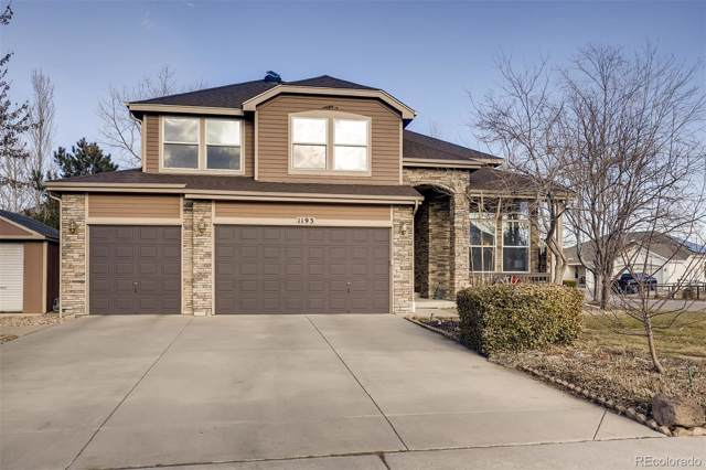 1193 Northview Drive, Erie, CO 80516 (#2323722) :: The HomeSmiths Team - Keller Williams
