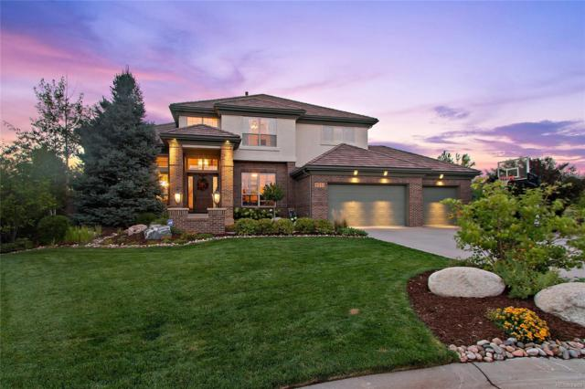 9511 Silent Hills Lane, Lone Tree, CO 80124 (#2324437) :: The Peak Properties Group