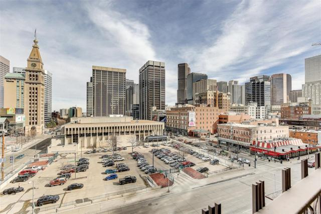1020 15th Street 8E, Denver, CO 80202 (#2325772) :: The Peak Properties Group