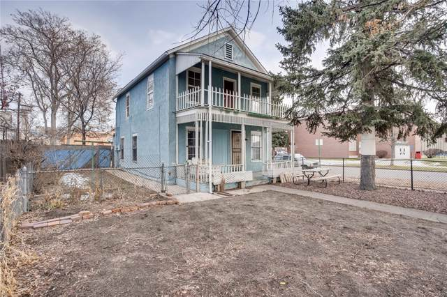 1035 W 12th Avenue, Denver, CO 80204 (#2326709) :: 5281 Exclusive Homes Realty
