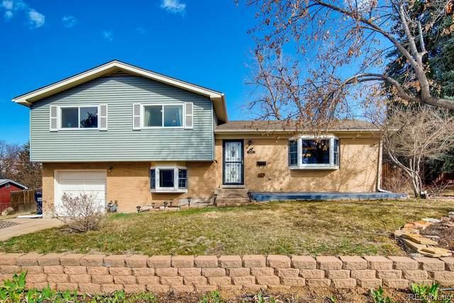 885 E Briarwood Circle S, Centennial, CO 80122 (MLS #2327355) :: 8z Real Estate