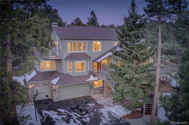 1396 Gold Mine Lane, Evergreen, CO 80439 (#2328499) :: The Colorado Foothills Team | Berkshire Hathaway Elevated Living Real Estate