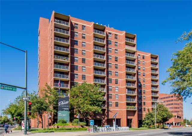 1301 Speer Boulevard #302, Denver, CO 80204 (#2328949) :: The Galo Garrido Group