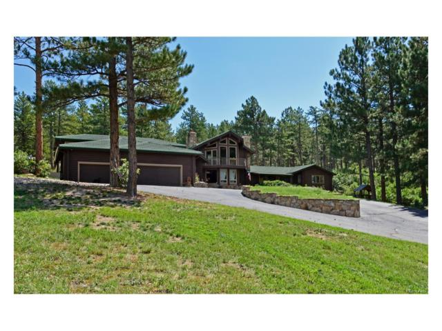 4218 S Perry Park Road, Sedalia, CO 80135 (MLS #2329416) :: 8z Real Estate