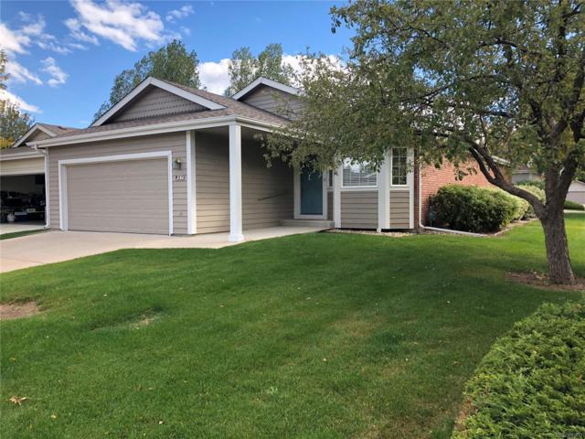 900 Arbor Avenue #27, Fort Collins, CO 80526 (#2332757) :: 5281 Exclusive Homes Realty