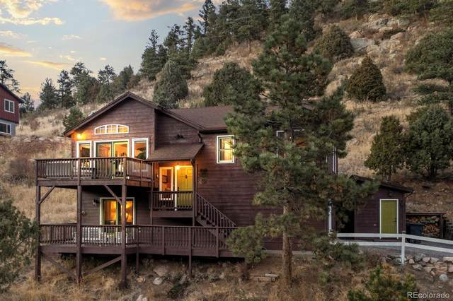 14136 Wamblee Trail, Conifer, CO 80433 (#2332998) :: The DeGrood Team