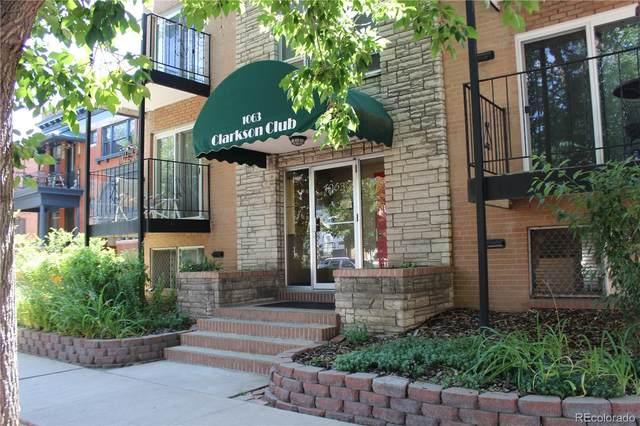 1063 Clarkson Street #2, Denver, CO 80218 (#2333819) :: James Crocker Team