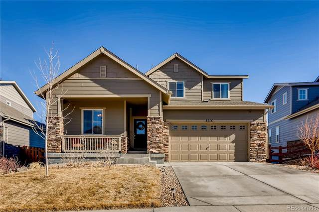 8016 S Grand Baker Way, Aurora, CO 80016 (#2342542) :: James Crocker Team