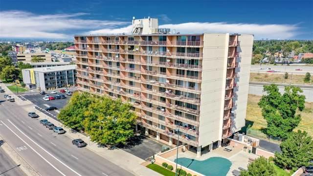 2225 Buchtel Boulevard #802, Denver, CO 80210 (#2349436) :: 5281 Exclusive Homes Realty
