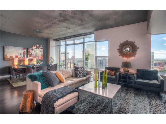 891 14th Street #3810, Denver, CO 80202 (#2352829) :: The Peak Properties Group