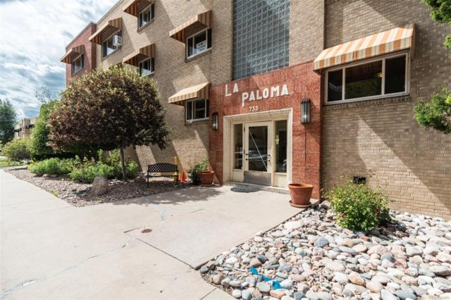 733 E 2nd Avenue #1, Denver, CO 80203 (#2358377) :: Mile High Luxury Real Estate