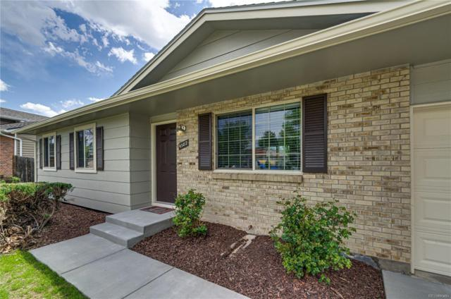 4582 S Gar Way, Littleton, CO 80123 (#2358718) :: House Hunters Colorado