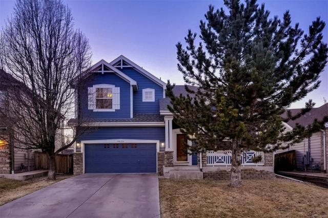 9823 Centre Circle, Parker, CO 80134 (#2359010) :: The Pete Cook Home Group