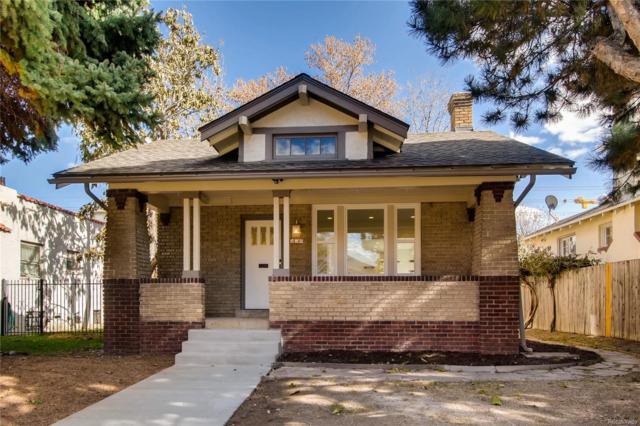 960 Jackson Street, Denver, CO 80206 (#2360078) :: The Heyl Group at Keller Williams