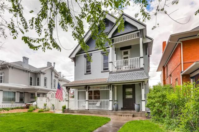 2236 N Vine Street, Denver, CO 80205 (#2360633) :: RE/MAX Professionals