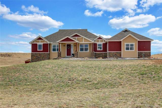 31860 Kensington Circle, Elizabeth, CO 80107 (#2362194) :: The Brokerage Group