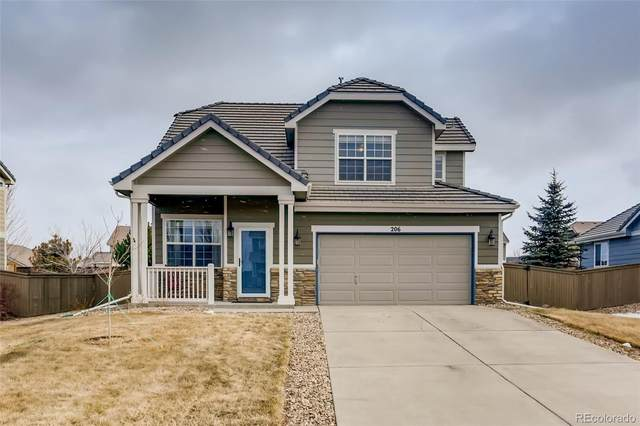 206 Stockwell Street, Castle Rock, CO 80104 (#2366944) :: The Colorado Foothills Team | Berkshire Hathaway Elevated Living Real Estate