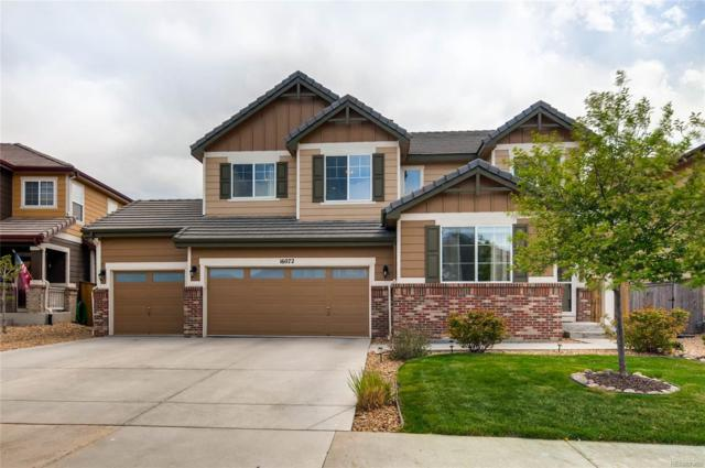 16072 E 107th Avenue, Commerce City, CO 80022 (#2367454) :: The Pete Cook Home Group