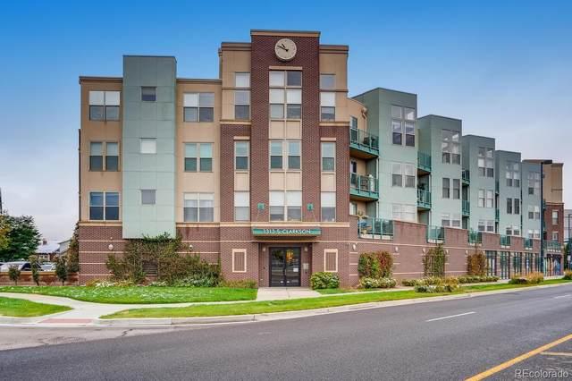 1313 S Clarkson Street #206, Denver, CO 80210 (#2367849) :: The Gilbert Group
