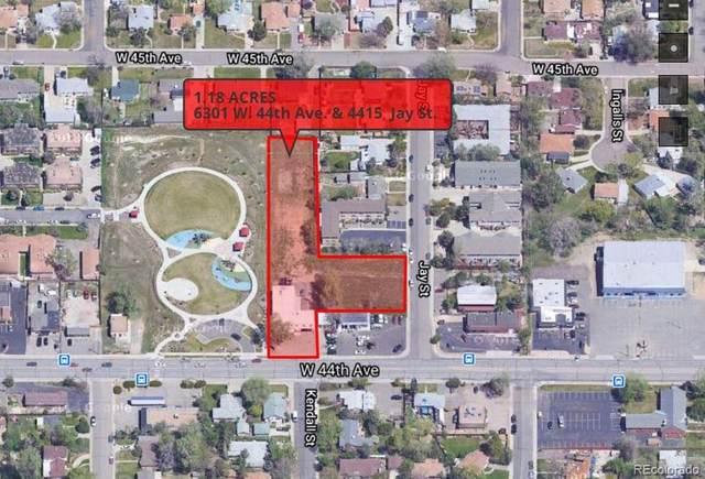 6301 W 44th Avenue, Wheat Ridge, CO 80033 (#2368481) :: Symbio Denver