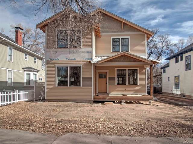 1615 N Weber Street, Colorado Springs, CO 80907 (#2372456) :: The Heyl Group at Keller Williams