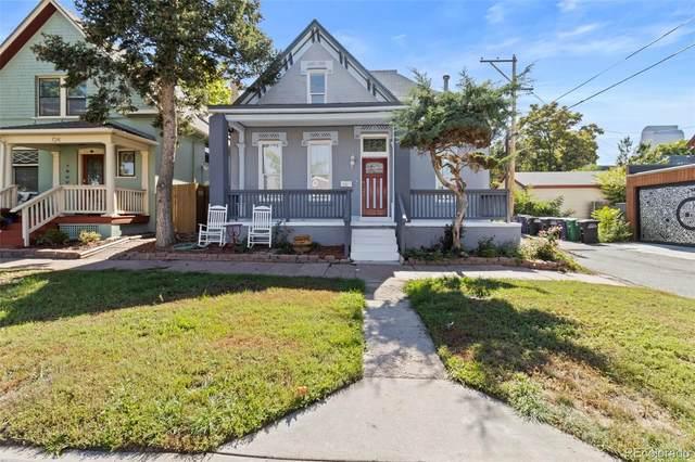 722 E 23rd Avenue, Denver, CO 80205 (MLS #2373995) :: Kittle Real Estate
