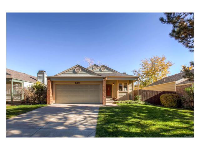 539 W Jamison Circle, Littleton, CO 80120 (MLS #2374174) :: 8z Real Estate