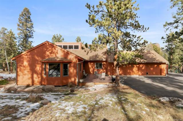 411 Spring Drive, Pine, CO 80470 (#2378348) :: Berkshire Hathaway Elevated Living Real Estate