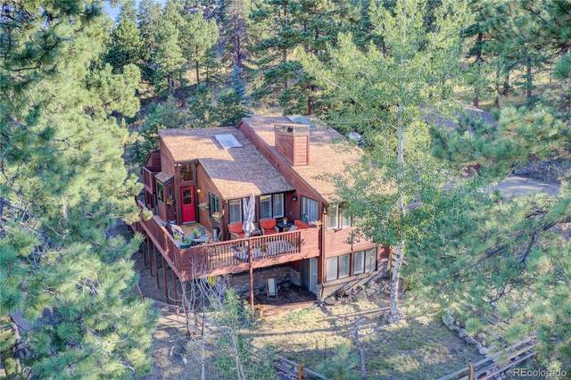 8540 Grizzly Way, Evergreen, CO 80439 (#2383052) :: Bring Home Denver with Keller Williams Downtown Realty LLC