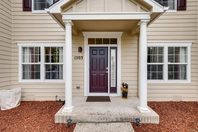 1503 Gold Hill Street, Castle Rock, CO 80109 (#2383349) :: The DeGrood Team