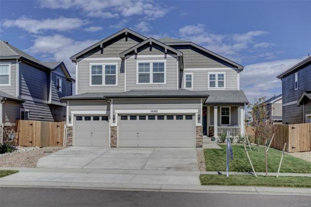 16245 E 101st Avenue, Commerce City, CO 80022 (#2395166) :: The DeGrood Team