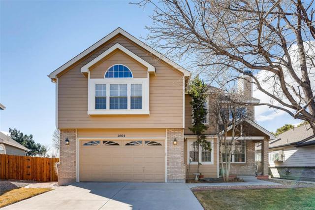 1464 E 130th Drive, Thornton, CO 80241 (#2398039) :: The Peak Properties Group