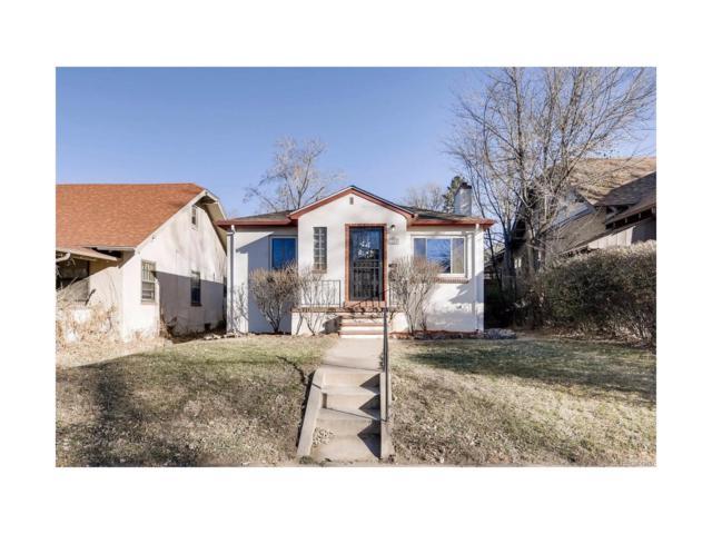 1160 S Ogden Street, Denver, CO 80210 (MLS #2398443) :: 8z Real Estate
