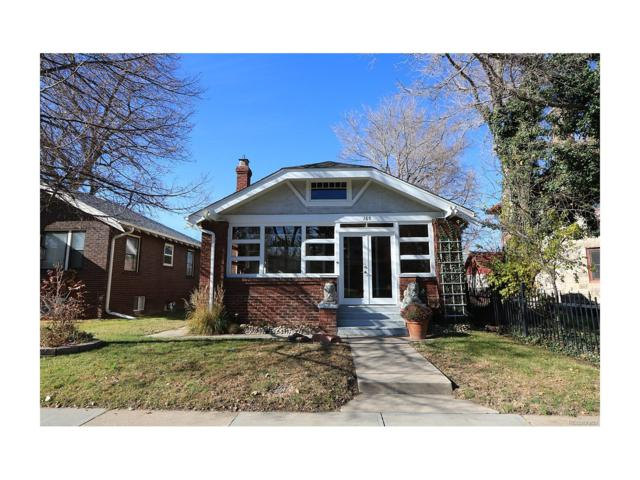 165 S Downing Street, Denver, CO 80209 (#2399834) :: Wisdom Real Estate