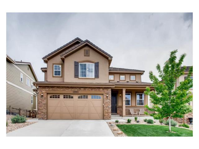 13993 Hillrose Drive, Parker, CO 80134 (MLS #2403045) :: 8z Real Estate