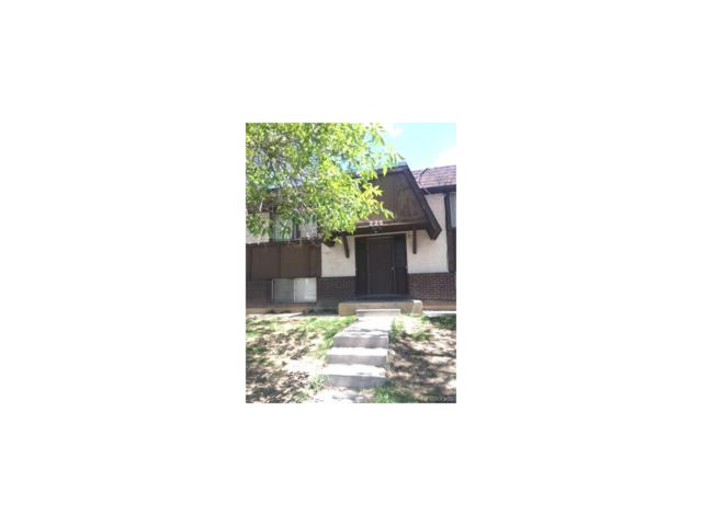 225 Byron Drive, Colorado Springs, CO 80910 (MLS #2403075) :: 8z Real Estate