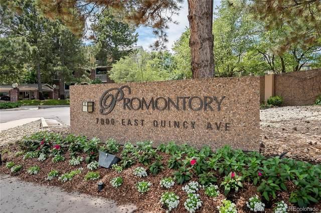7000 E Quincy Avenue #318, Denver, CO 80237 (#2403850) :: Berkshire Hathaway HomeServices Innovative Real Estate